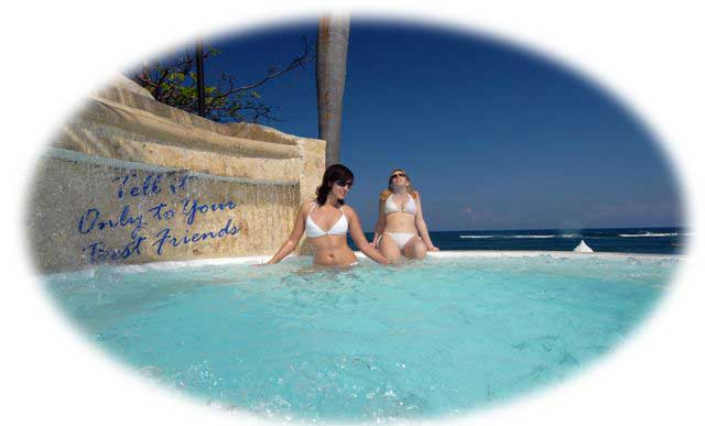 jacuzzi lifestyle tropical beach resort