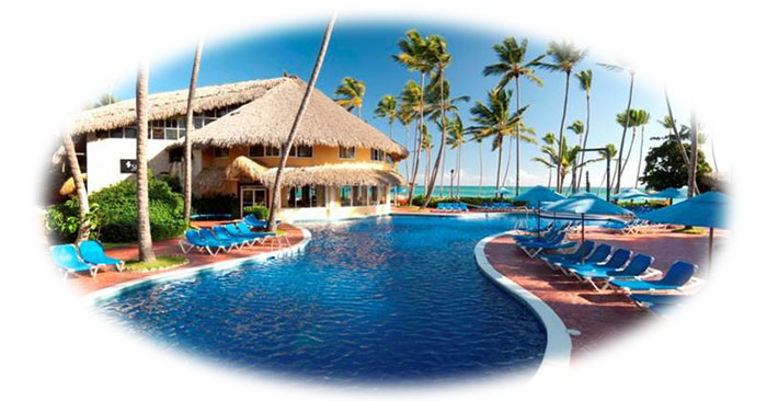 pools at barcelo dominican beach