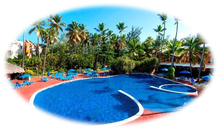 barcelo dominican beach pool