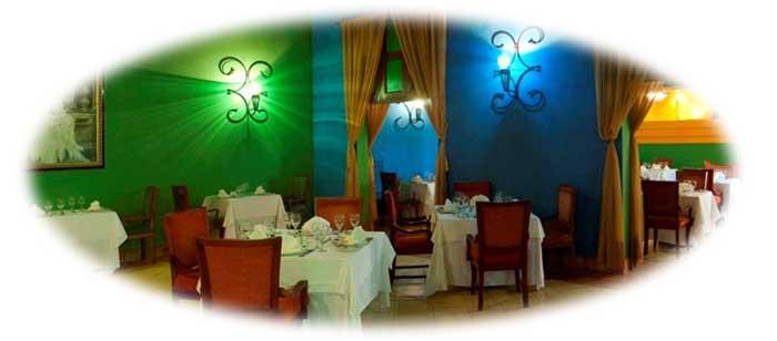 Restaurant Mezzaluna, italian food onl