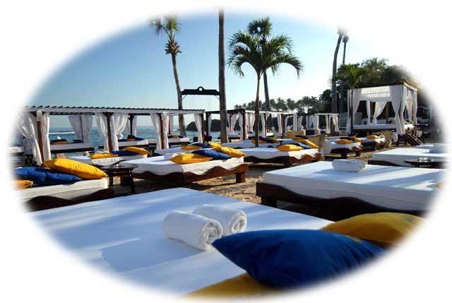 vip beach lifestyle tropical beach resort