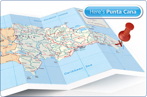 Where is Punta Cana and why it doesnt show up on maps of the